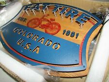 New Belgium Brewing Fat tire Colorado Bicycle Beer Led Beer Sign bar Light