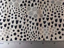 Tiger Plant- Floral Andover ALN-8644 K Natural Linen Cotton Blend - Sarah Golden