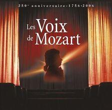 LES VOIX DE MOZART : 40 AIRS D'OPERAS PAR LES PLUS (NEW CD)