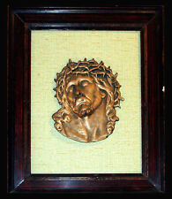 Quadro Scultura Bronzo Cera Persa Antiquariato Arte Sacra Vintage Sculpture '900