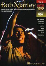 Guitar Play-Along Bob Marley Learn to Play Reggae Rock Guitar Music DVD SONG TAB
