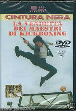 La vendetta dei maestri di Kickboxing (1995) DVD NUOVO Cynthia Rothrock Loren Av