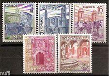 Spain  Edifil # 2724/2728 ** MNH Paisajes y Monumentos