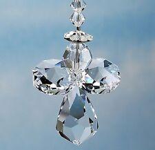 m/w All Swarovski Crystal * Guardian Angel with Halo Suncatcher Ornament Gift