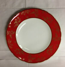 """ROYAL CROWN DERBY """"INDIA"""" DINNER PLATE 10 1/2"""" BONE CHINA ENGLAND"""