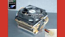 GENUINE AMD PHENOM X4 HEATSINK COOLING FAN FOR SOCKET  AM3-AM2+ 9000 SERIES NEW