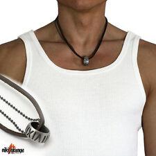 niki-orange® Rayo SURFERKETTE Halskette Leder Kette
