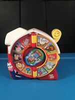 MATTEL SEE N' SAY TOY 16 ANIMAL SOUNDS QUIZ RED - Works Great!