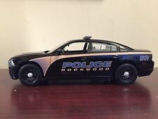 Rockwood Tennessee Police Department diecast car Motormax 1:24 scale Charger