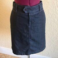 AG Adriano Goldschmied Women's PEONY Dark Wash Denim Skirt I Size 30