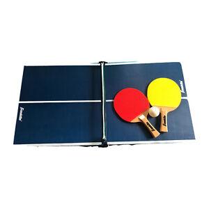 Franklin minature pingpong. W/ Pair Ping Pong Paddles & One Ping Pong Ball.