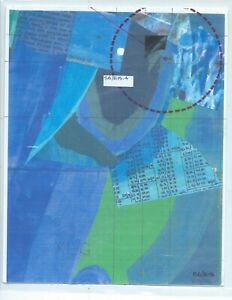 Jerry's Map Original Panel S6/E15 Gen IV Collectible Art!