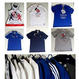 Men Women Original adidasTeam GB Short Sleave Casual T Shits Polo/Crew neck