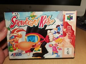 BOX ONLY Snowboard Kids Nintendo 64 NO GAME
