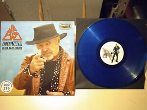 """Vasco ROSSI – Liberi Liberi (Ultra Rare Tracks) LP 33"""" VINILE BLU MINT"""