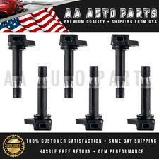 Pack of 6 Ignition Coil For Honda Accord Crosstour Acura RL TL TSX UF603