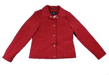 UD Utex Design Women's red jacket  Quilted Size S nice