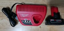 Milwaukee M12 Starter Kit - M12 Charger and 4.0 XC Battery