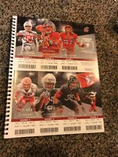 2017 WASHINGTON STATE COUGARS COLLEGE FOOTBALL SEASON TICKET STUB STRIP SHEET