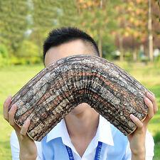 Nature Pillow Cushion Soft Log Decor Neck Support Throw Car Wood Seat Headrest