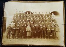 A0108 - Photo soldats officiers 13e Régiment d'Infanterie 1870-1914 Médailles