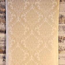 3 ROLL LOT York Wallcovering Traditional Damask Cream Tan Gold Classic Designer
