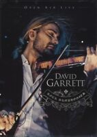 "DAVID GARRETT ""ROCK SYMPHONIES-OPEN AIR LIVE"" 2 DVD NEU"