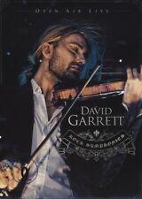 "DAVID GARRETT ""ROCK SYMPHONIES-OPEN AIR LIVE"" 2 DVD NEU"