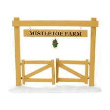 Dept 56 2016 Mistletoe Farm Gate #4054242 NIB FREE SHIPPING 48 STATES