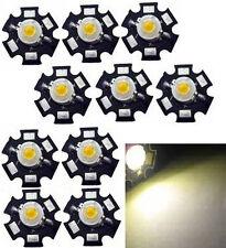 10x Hi-Power LED 3W warmweiß STAR 3000-3500K  200-230lm
