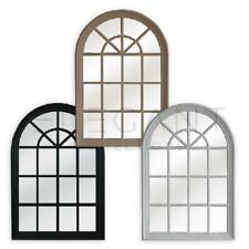 Hampton's Arched Window Style Mirror - MED