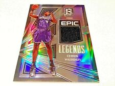 Chris Webber 2018 Panini Spectra Epic Legends Refractor Game Worn Jersey #/149