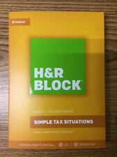 H&R Block Basic 2016 - CD - BRAND NEW - PC / MAC