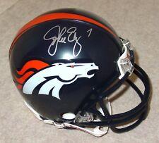JOHN ELWAY Signed/Autographed DENVER BRONCOS Mini Helmet HOF - JSA COA