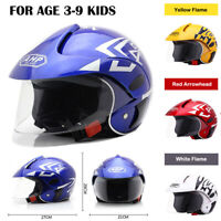 Children Sport Safety Helmet Child Motorcycle Helmet Bike Motor for 3-9year kids