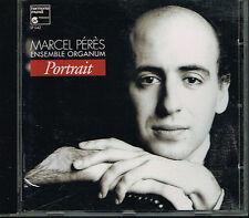CD album: Marcel Pérès: portrait. ensemble Organum. harmonia mundi. A