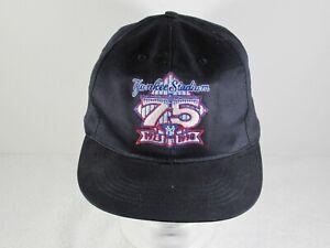 Adidas Yankee Stadium 75th Anniversary Foot Locker Promo Snapback Hat 1998