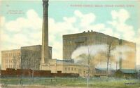 C-1910 Factory Industry Pawnee Cereal Mills Cedar Rapids Iowa postcard 9921
