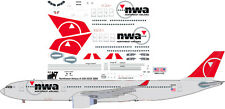Northwest final Airbus A-330-300 decals for Revell 1/144 kit