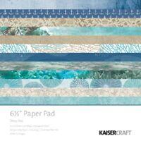 """Kaisercraft 'DEEP SEA' 6.5"""" Paper Pad Ocean/Reef/Holiday KAISER PP1058"""