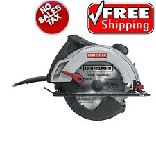 Craftsman Electric Circular Saw 12 Amp 7-1/4-inch Corded Power Tool Wood Lumber