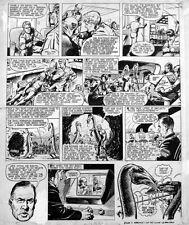 Original Artwork for Jet Ace Logan by John Gillatt - Tiger August 1966