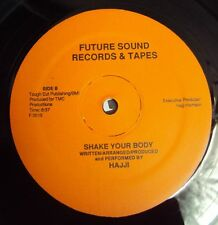 "HAJJI - Shake Your Body 1980's Rare FUNK BOOGIE - USA Future Records 12"""