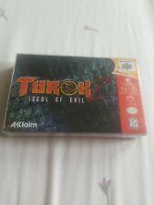 Turok 2: Seeds of Evil N64 - w/custom mini case