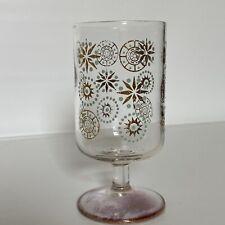 Dorothy Thorpe Glama Glass Small Atomic Starburst Glass Iridescent Purple MCM