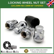 Set Of Locking Wheel Nuts 4 + Key For Hyundai Coupe