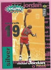 1995-96 Collectors Choice Michael Jordan C1 Crash The Game March 19 MINT NO453