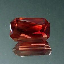 Oregon sunstone red schiller gem precision USA cut 3.03 carats