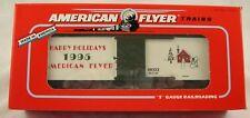 American Flyer by Lionel #6-48323 1995 AF Christmas Boxcar MIB