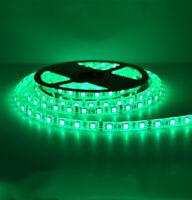 Waterproof SMD 5050 LED Strip 12V 60leds/m Flexible Tape Rope Light Green